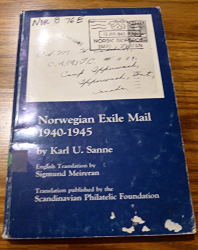 9780936493107: Norwegian Exile Mail, 1940-1945
