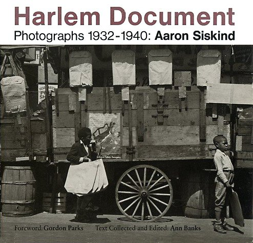 HARLEM DOCUMENT; Photographs 1932-1940