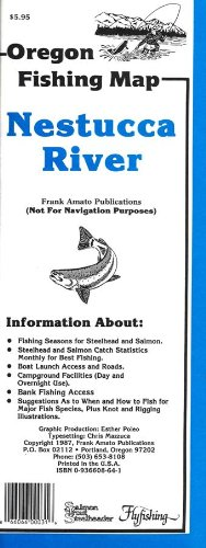 Oregon Fishing Map (Nestucca River)