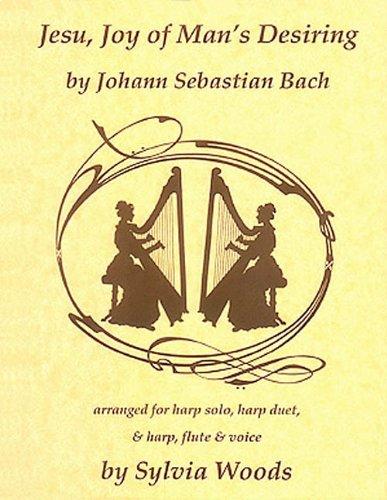 9780936661124: Jesu, Joy of Man's Desiring: For Harp Solo, Harp Duet, & Harp, Flute & Voice