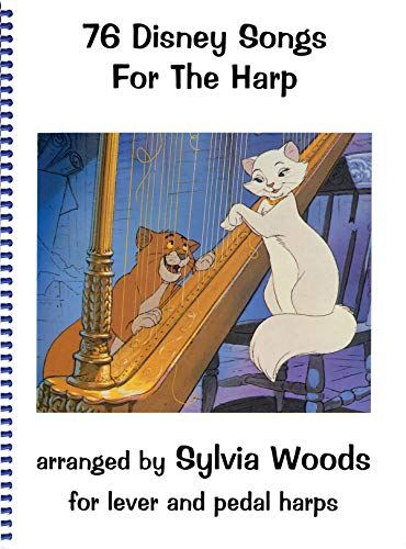 9780936661179: Seventy-Six Disney Songs for the Harp
