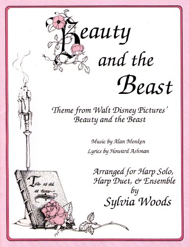 9780936661490: Beauty and the Beast: Theme from Walt Disney Pictures' Beauty and the Beast, Arranged for Harp Solo, Harp Duet, & Ensemble