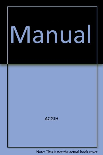 Industrial Ventilation Book : Industrial ventilation st edition a manual of