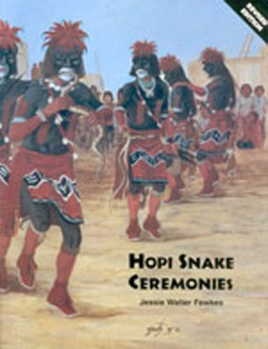 Hopi Snake Ceremonies: Fewkes, Jesse Walter