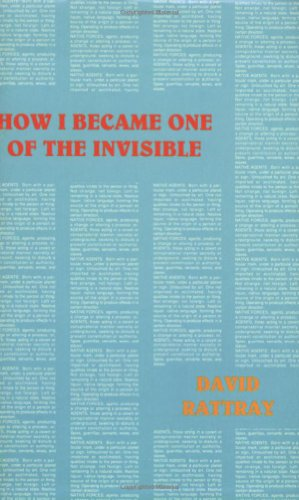 How I Became One of the Invisible (Native Agents) (0936756985) by David Rattray
