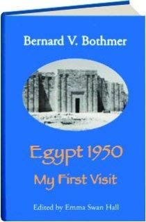 9780936770253: Egypt 1950: My First Visit