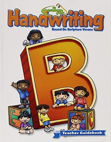 9780936785240: Reason for Handwriting - Man B Guidebook: Manuscript B Guidebook