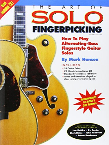 9780936799032: The Art of Solo Fingerpicking: How to Play Alternating-Bass Fingerstyle Guitar Solos (Guitar Books)