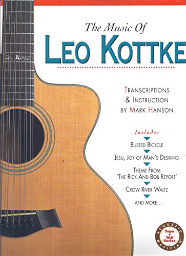9780936799087: The Music of Leo Kottke