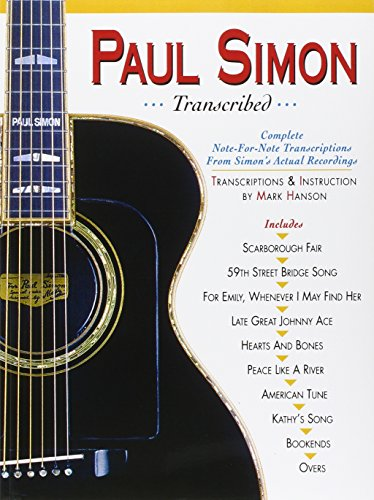 9780936799094: Paul Simon - Transcribed