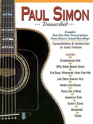 9780936799094: Paul Simon - Transcribed (Paul Simon/Simon & Garfunkel)