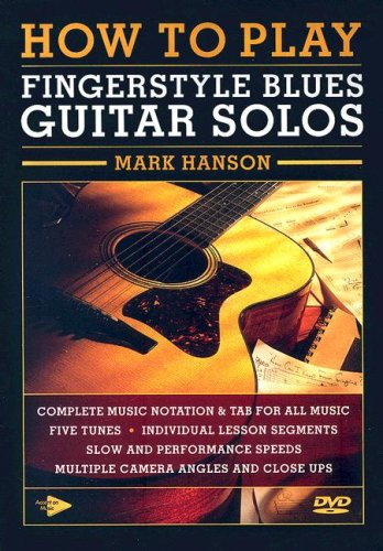 9780936799261: How To Play Fingerstyle Blues Guitar Solos