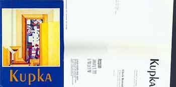 9780936827193: Kupka: Paintings and gouaches : October 9-November 10, 1990