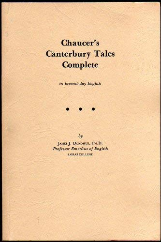 9780936875033: Chaucer's Canterbury Tales Complete in Present Day English