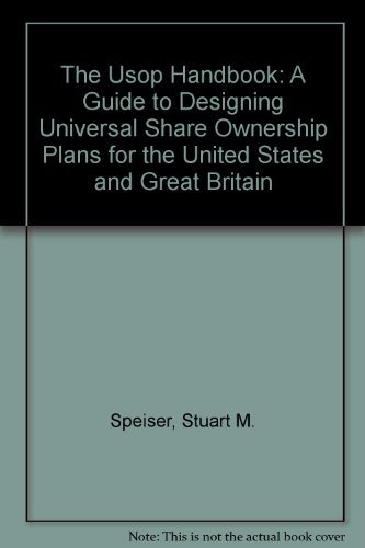 9780936876467: The Usop Handbook: A Guide to Designing Universal Share Ownership Plans for the United States and Great Britain
