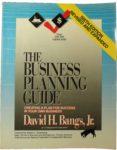9780936894393: The Business Planning Guide: Creating a Plan for Success in Your Own Business