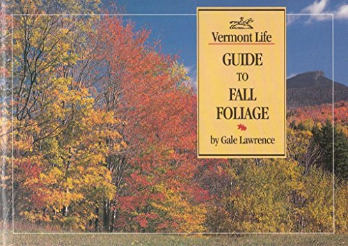 9780936896250: Vermont Life's Guide to Fall Foliage