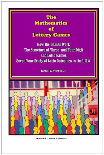 9780936918112: The Mathematics of Lottery Games