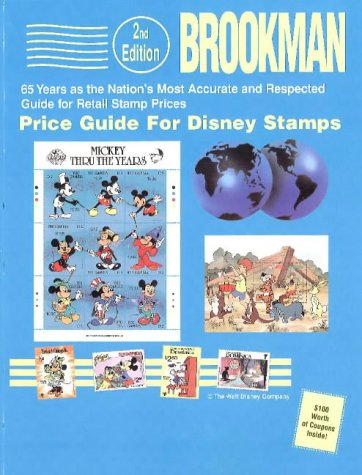 9780936937458: Brookman Price Guide for Disney Stamps