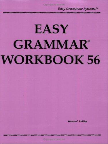 9780936981123: Easy Grammar Workbook 56, Level 1 (Easy Grammar Systems)