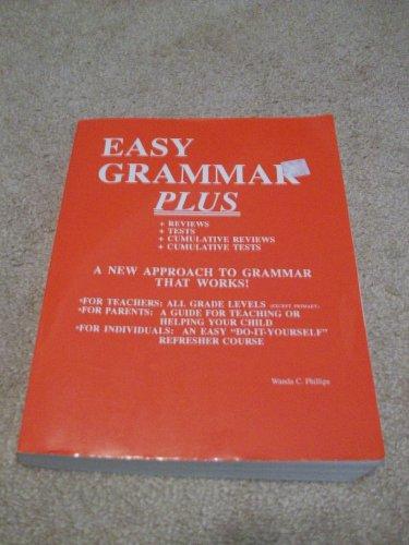 9780936981147: Easy Grammar Plus Workbook