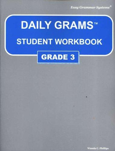 9780936981390: Daily Grams Workbook Grade 3