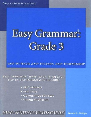 9780936981420: Easy Grammar 3 - Teacher Edition