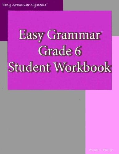 9780936981468: Easy Grammar: Grade 6 Student Workbook