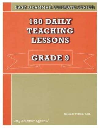 9780936981581: 180 Daily Teaching Lessons, Grade 9