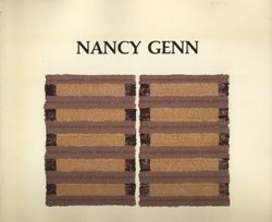 Nancy Genn: Paper Paintings : September 6th-29th, 1984 (SIGNED): Genn, Nancy