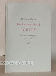 9780937035153: The Curious Act of Poetry (Stone House Press