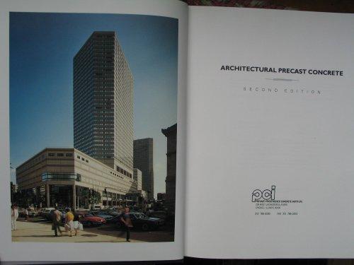 Architectural Precast Concrete Manual/Mnl-122-89: Sidney Freedman