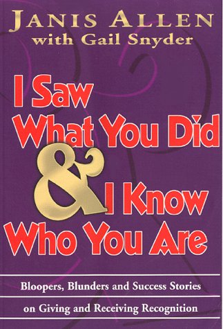 9780937100042: I Saw What You Did & I Know Who You Are