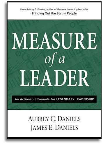 9780937100110: Measure of a Leader