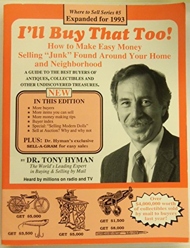 I'll Buy That Too!: How to Make: Tony Hyman