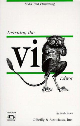 9780937175675: Learning the vi Editor (Nutshell Series)