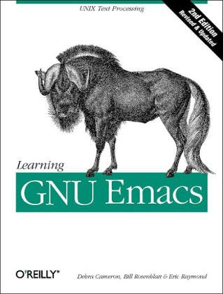 Learning GNU Emacs (0937175846) by Cameron, Debra; Rosenblatt, Bill