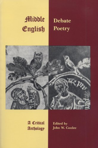 9780937191187: Middle English Debate Poetry: A Critical Anthology