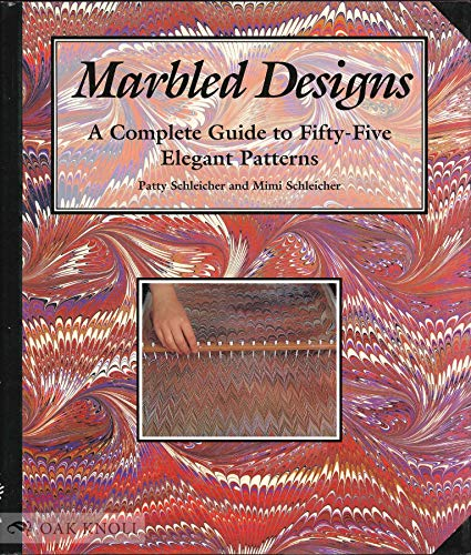 9780937274699: Marbled Designs: A Complete Guide to Fifty-Five Elegant Patterns