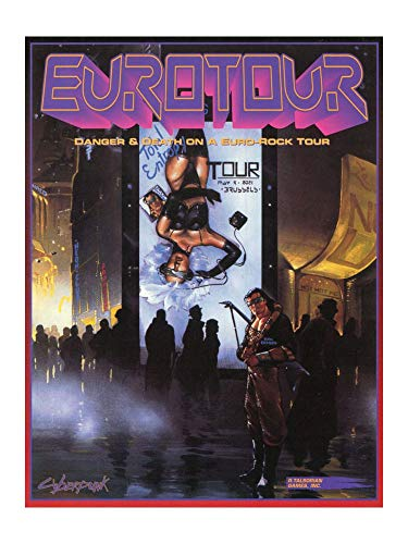 9780937279229: Eurotour (Cyberpunk RPG)