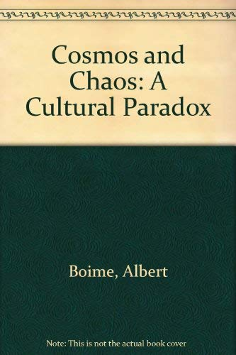 Cosmos & Chaos, a Cultural Paradox. SIGNED by Green.: Groat, Hall, II, with Nancy E. Green & ...