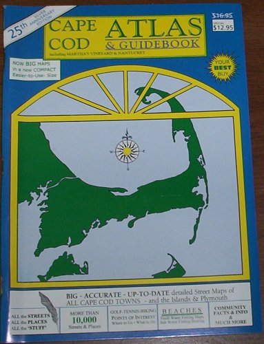 9780937338124: Cape Cod Atlas & Guidebook