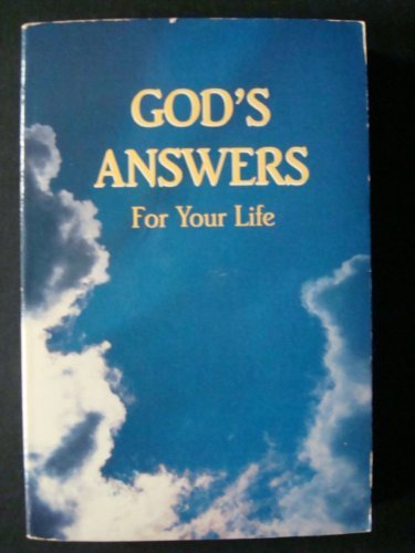 God's Answers for Your Life: Countryman, Jack