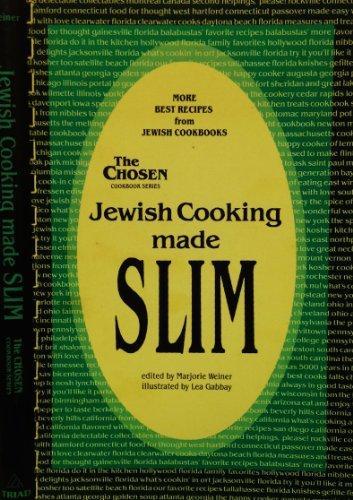 9780937404089: Jewish Cooking Made Slim