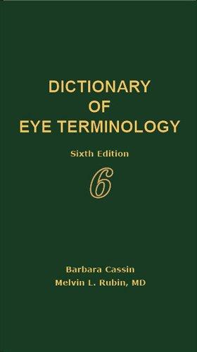 Dictionary of Eye Terminology: Cassin, Barbara