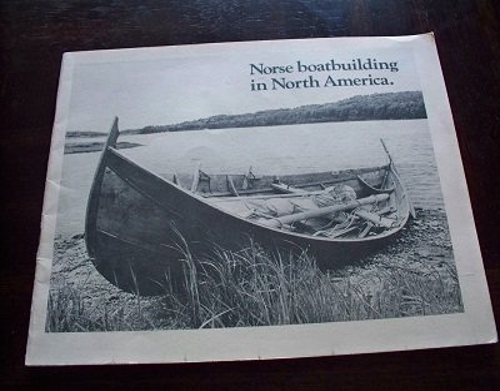 9780937410011: Norse boat building in North America