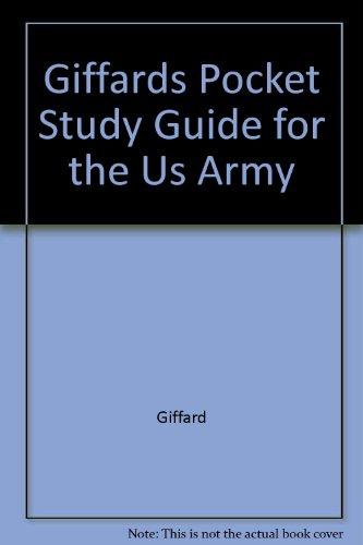 9780937411001 giffard s pocket study guide for the u s army e5 and rh abebooks com portable u s army board study guide version 5.3 pdf u.s. army board study guide