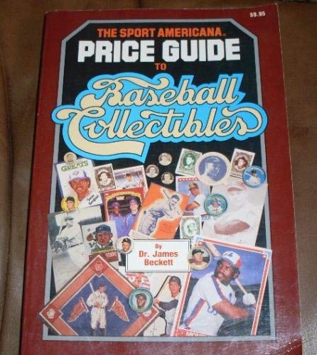 9780937424315: Sport Americana Price Guide to Baseball Collectibles