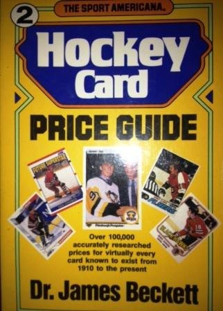 Sport (The) Americana Hockey Card Price Guide,: Beckett, Dr. James