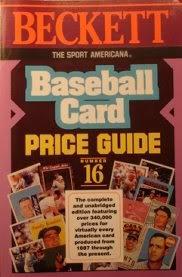 9780937424711: Sport Americana Baseball Card Price Guide